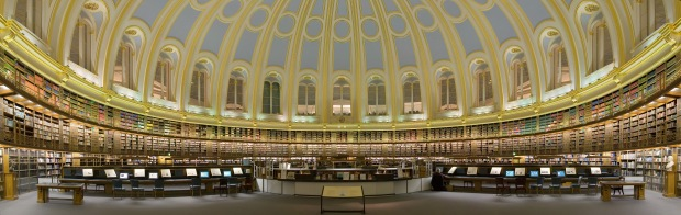 British Museum Reading Room Panorama
