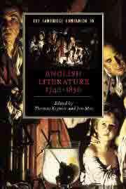 The Cambridge Companion to English Literature, 1740-1830, edited by Thomas Keymer and Jon Mee