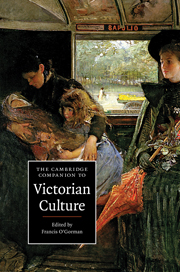 The Cambridge Companion to Victorian Culture (2010), edited by Francis O'Gorman