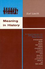 Lowith - Meaning in History