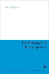 Taylor - The Philosophy of Herbet Spencer