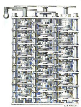 Charles Babbage Computing Machine