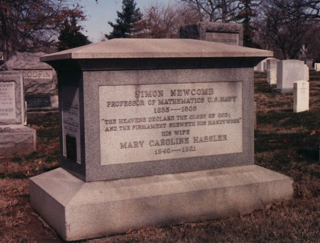 Simon Newcomb Tombstone